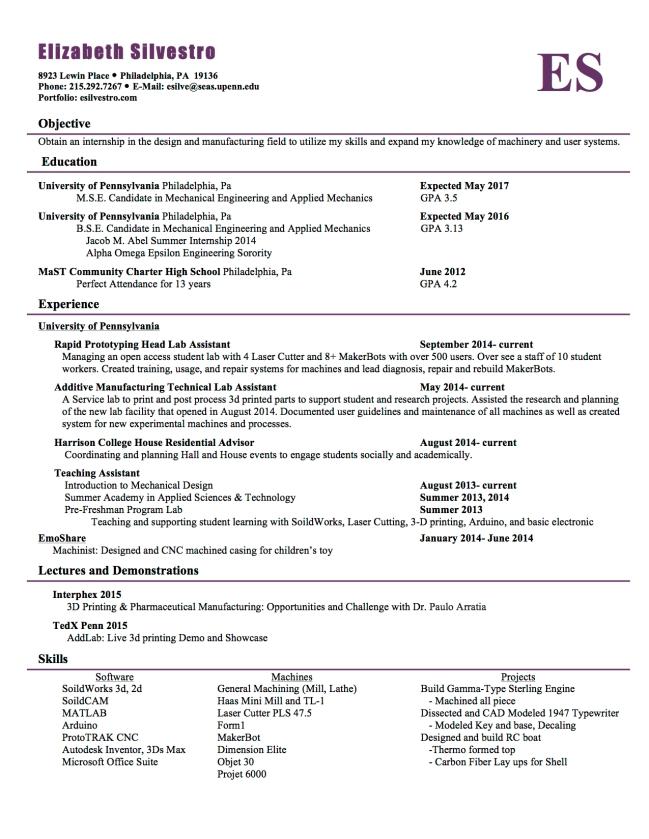 Silvestro_resume_2015